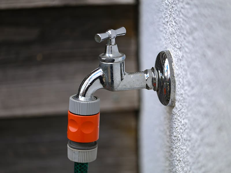 Fixing Outside Tap